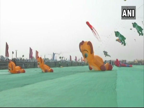 Kite festival at Vadodara sees participants from 12 countries