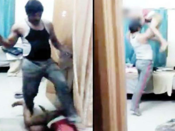 Indian man brutally thrashes son; video goes viral