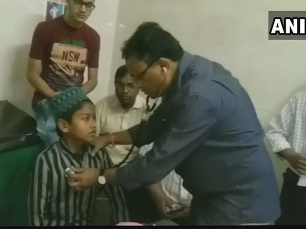 26 children fell ill on Wednesday evening after consuming biryani in Bhiwandi's Diwan Shah Madrasa in Roshan Bagh. Courtesy: ANI news