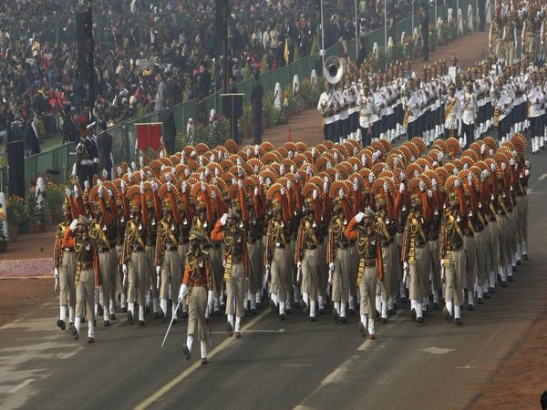 ITBP contingent at Republic Day parade
