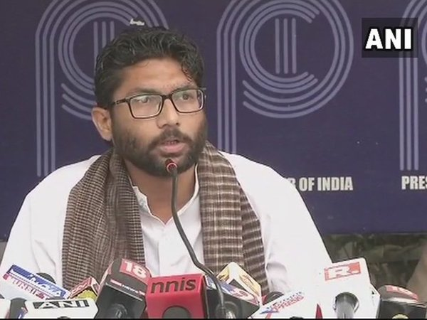 Vadgam MLA and Dalit activist Jignesh Mevani. Courtesy: ANI news