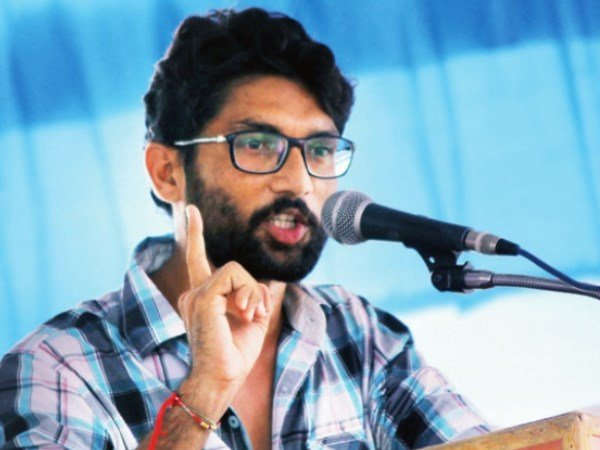 Students protest after Jignesh Mevani, Umar Khalid's event cancelled in Mumbai
