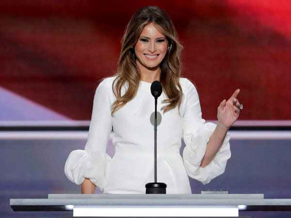 Why did Melania Trump wear white? Some see hidden meanings