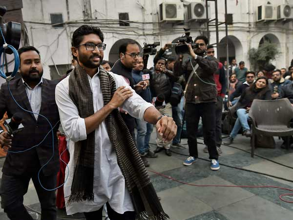Jignesh Mevani's event at Parliament street cancelled