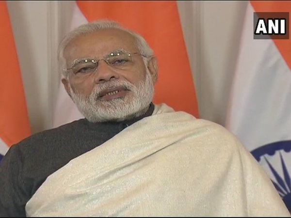 PM Modi addressing the curtain-raiser ceremony of the commemoration of professor Satyendra Nath Bose's 125th birth anniversary in Kolkata via video-conference. Courtesy: ANI news