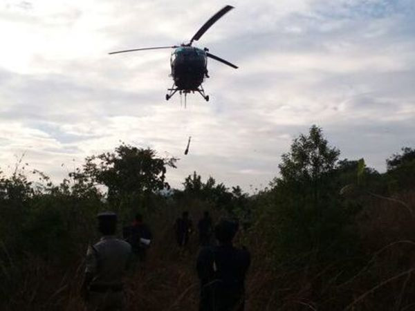 Andhra Pradesh: Navy rescues 6 missing trekkers in Simhachalam hills