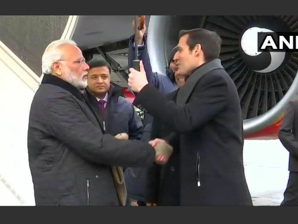 PM Modi arrives in Zurich