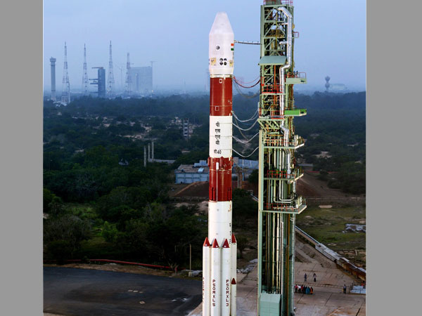 File photo of a launch by ISRO