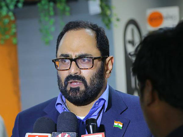 Rajya Sabha MP and NDA representative Rajeev Chandrasekhar