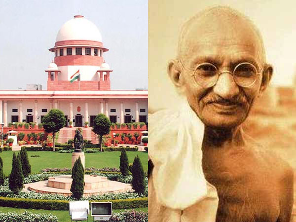 Amicus curiae Sharan refutes claim of unknown person killing Mahatma Gandhi