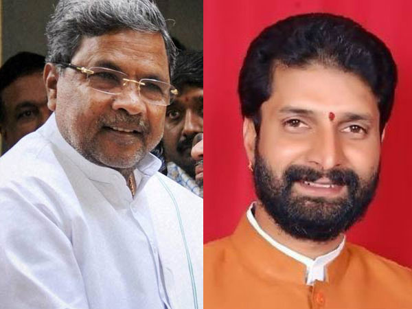 Siddaramaiah and CT Ravi