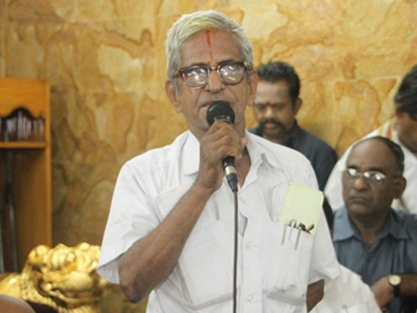 Jayalalithaa is a 'convict', govt can't build a memorial: Traffic Ramaswamy moves HC