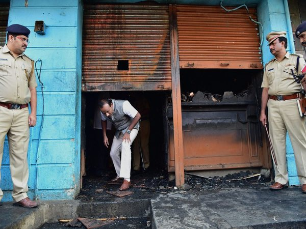 Five killed in Bengaluru bar fire