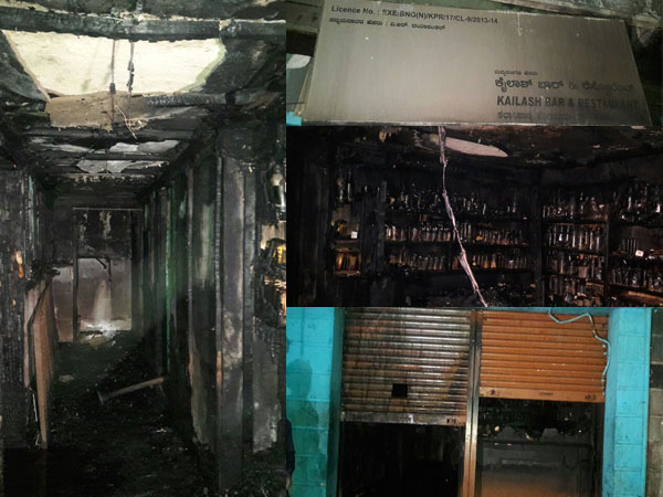 5 dead after fire breaks out at bar in Bengaluru