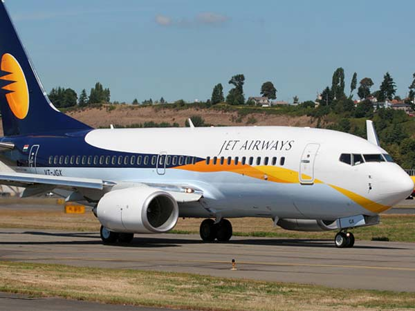 Close shave: Jet Airways plane hits catering van in Delhi airport