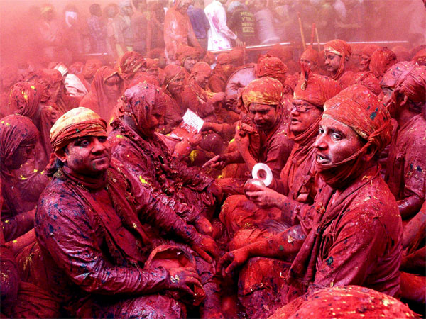 Devotees soak in the festivities