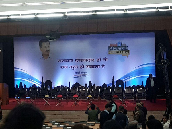 People of Delhi elected honest govt 3 years ago: Kejriwal