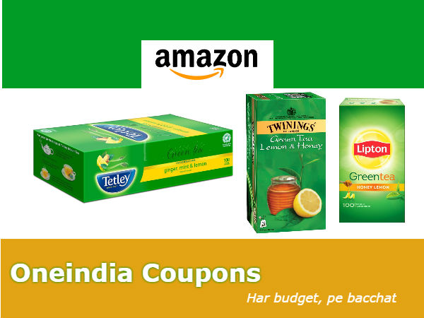 The Amazon Flavored Green Tea Sale: From Rs.51 Onwards*