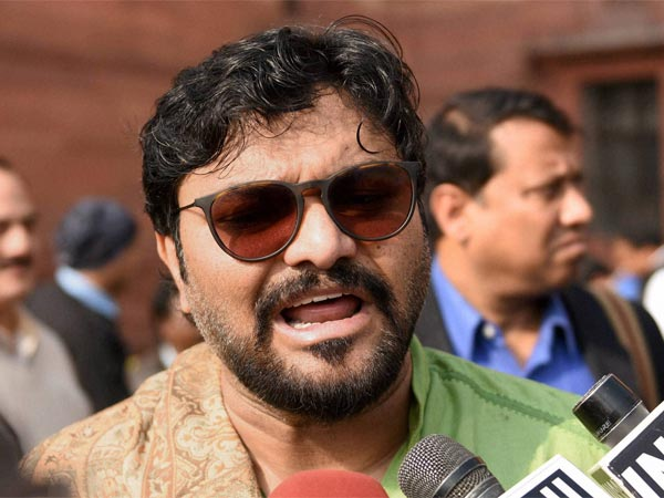 West Bengal: Babul Supriyo booked on charges of disrupting public order
