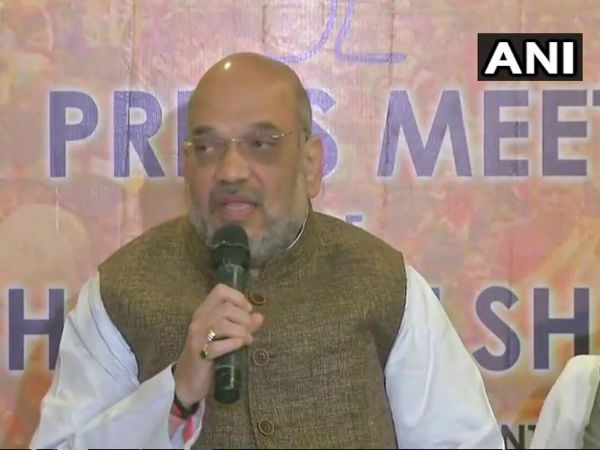 Next government in Tripura will be of the BJP, says Amit Shah