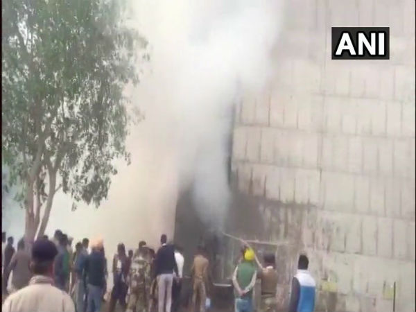 Chandigarh: Fire breaks out in 1st floor of Haryana Civil Secretariat