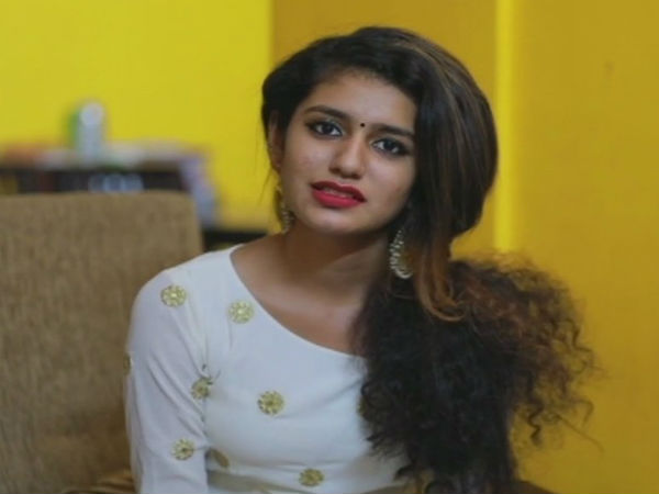 Actor Priya Varrier welcomes SC decision to stay criminal proceedings