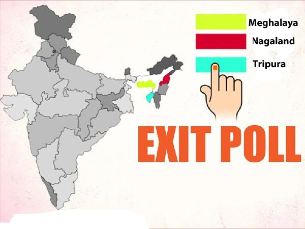 Tripura, Nagaland, Meghalaya exit polls in numbers
