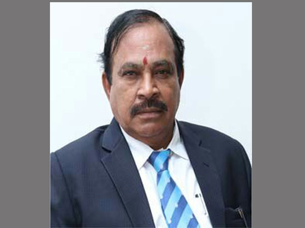 Professor Dr.A.Ganapathi, vice-chancellor of Bharathiar University