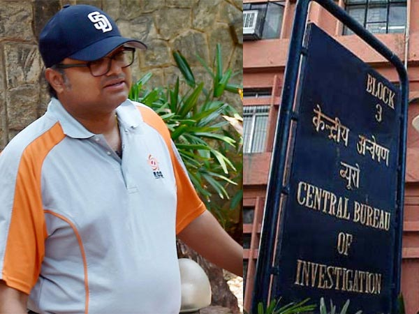 Karti was not cooperating, had to arrest him say CBI sources