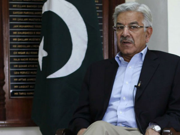 When Pakistan Foreign Minister Khwaja Asif