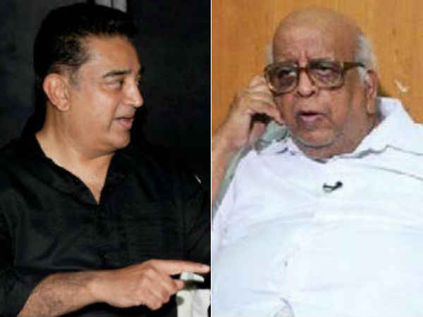 Kamal Haasan and T N Seshan