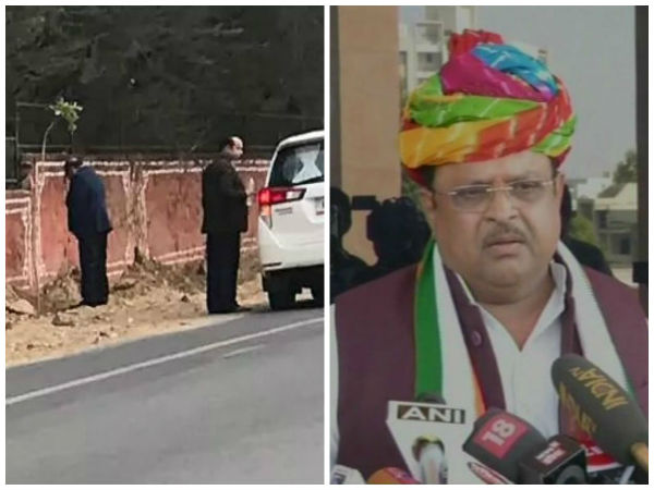 Snap of Rajasthan minister urinating on Jaipur walls goes viral