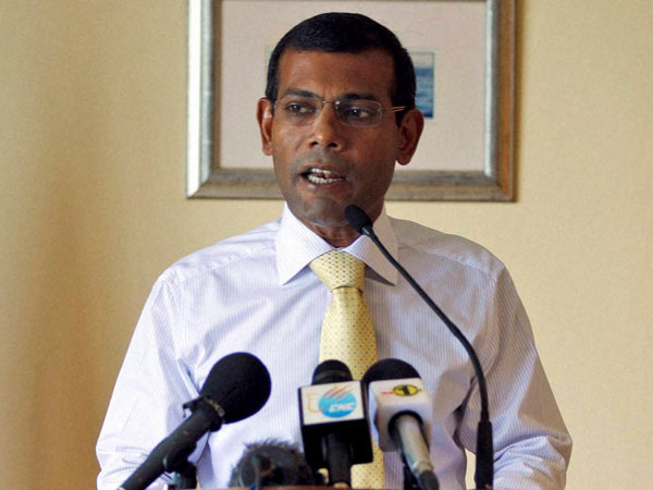 Mohamed Nasheed, the exiled former leader of the Maldives. PTI file photo