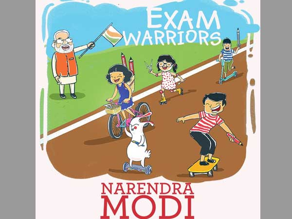 PM Modi writes book titled 'Exam Warriors' for students