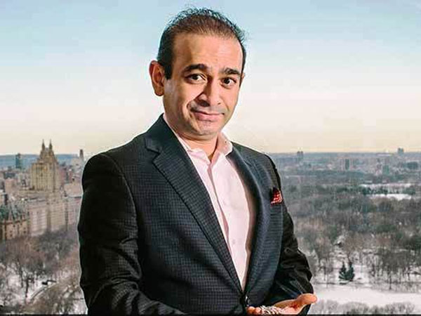 Diamond merchant Nirav Modi