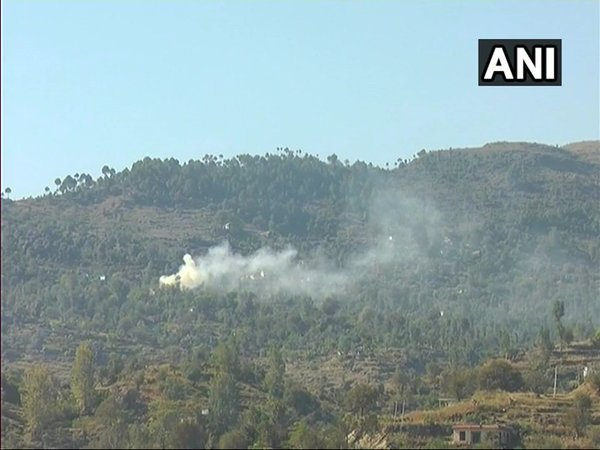 Pakistan also violated ceasefire in Rajouri's Manjakote sector (Image courtesy - ANI/Twitter)
