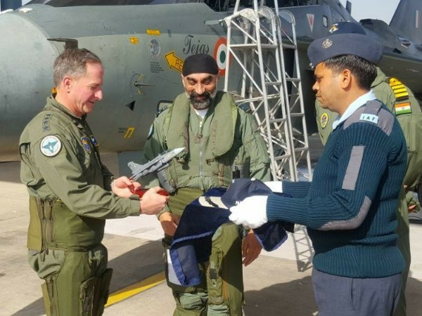 US Air Force chief flies Tejas