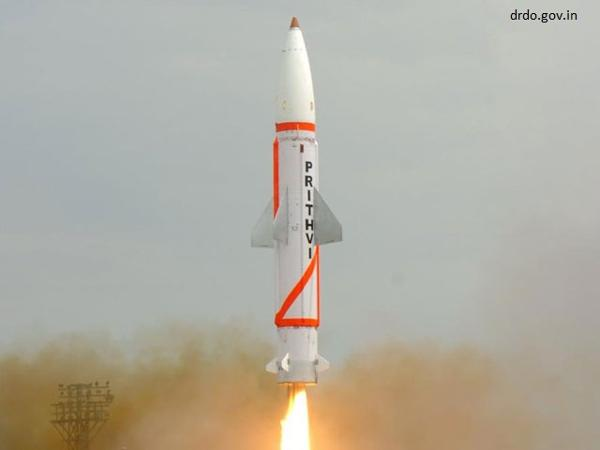India successfully test fires Nuclear-Capable Prithvi-II missile from Odisha coast
