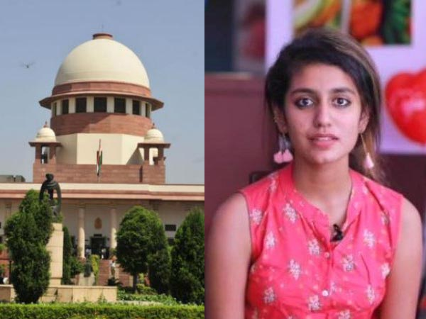 SC stays proceedings against wink sensation Priya Warrier