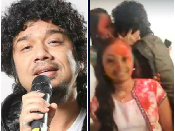 Singer Papon kisses minor girl