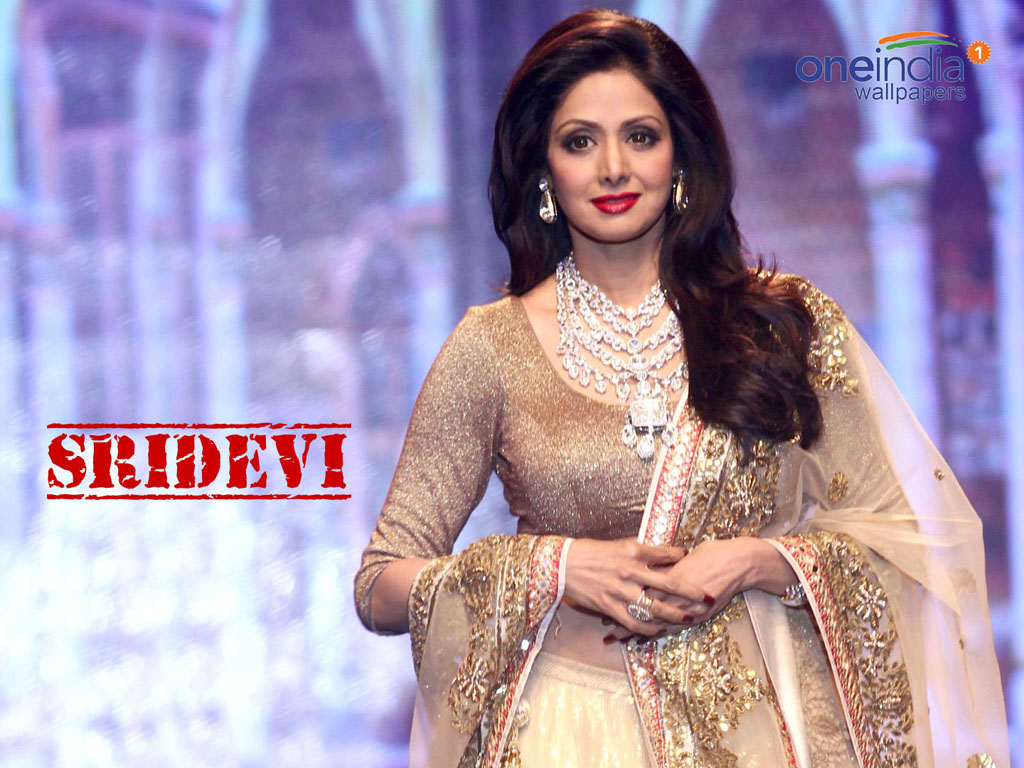 In 2013, Sridevi received Padma Shri award