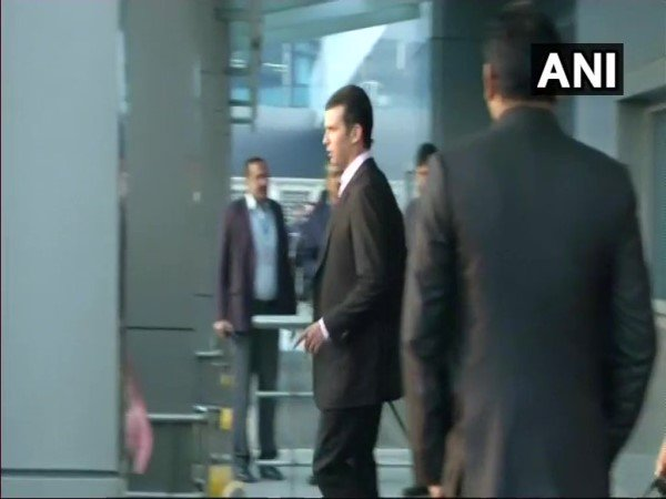 Donald Trump Jr arrives in India