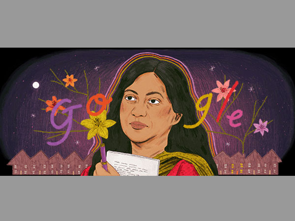 Google tribute to Kamala Das is an engrossing doodle