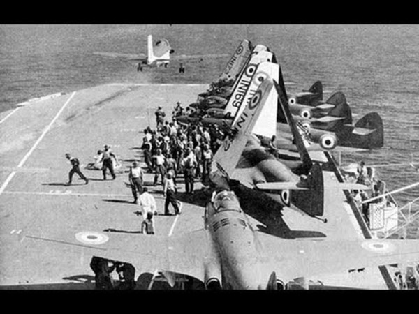 India's Navy and Air Force were also involved in the war