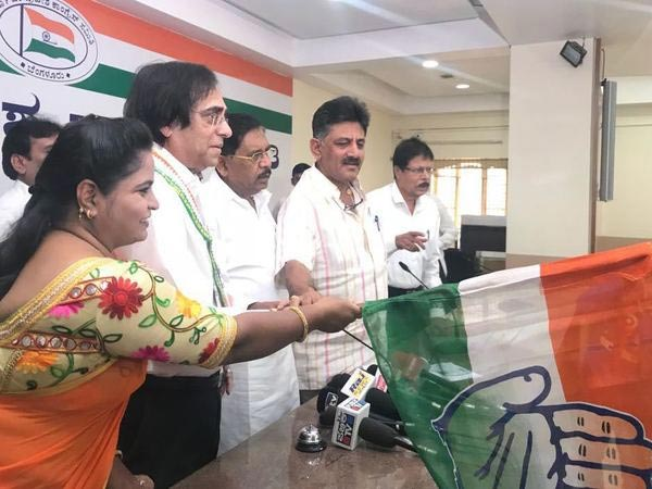 Bidar MLA Ashok Kheny joins Congress at KPCC office in Bengaluru