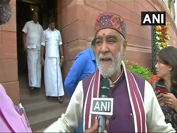 File photo of Union minister Ashwini Kumar Choubey (Image courtesy - ANI/Twitter)