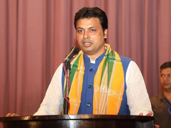 Tripura Chief Minister Biplab Kumar Deb. PTI file photo