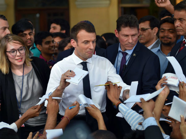 Macron emphasises on more pacts to fight climate change