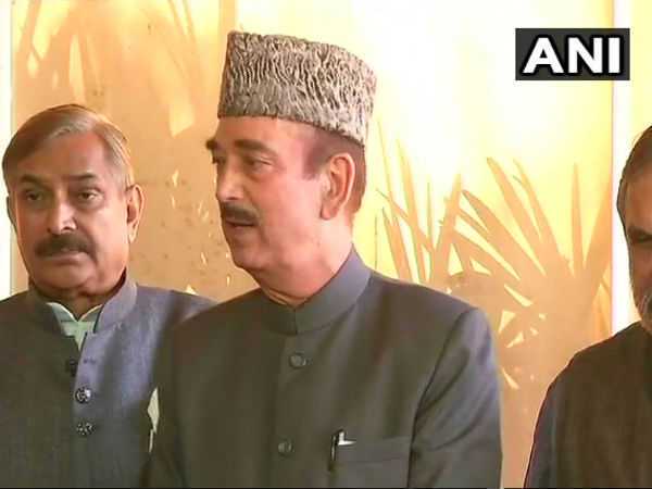 'Modi not been able to bring back black money to India', says Ghulam Nabi Azad