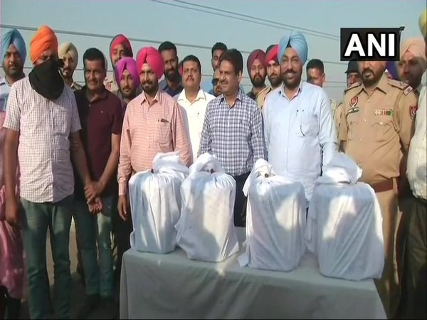 Seized narcotics (Image courtesy - ANI/Twitter)
